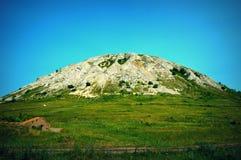 Montaña sola Torotau imagen de archivo