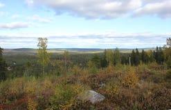 Montaña sueca Imagen de archivo libre de regalías
