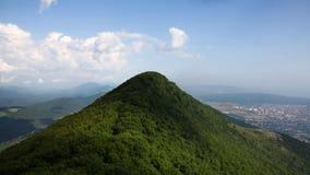 Montaña superior cerca de Gelendzhik Imagen de archivo libre de regalías
