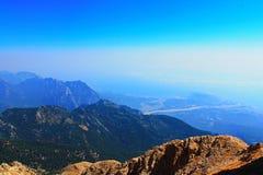 Montaña Tahtalı Foto de archivo