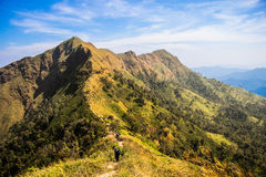 Montaña Tailandia de Chang-puak Fotos de archivo