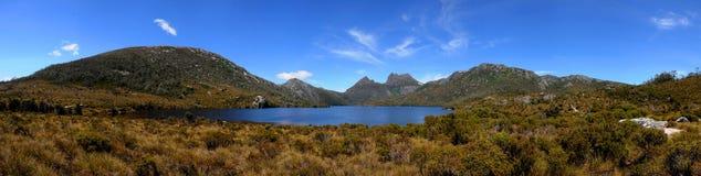 Montaña Tasmania de la horquilla fotografía de archivo libre de regalías