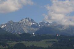 Montaña Tatry, Eslovaquia, año 2010 Imagen de archivo libre de regalías