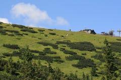 Montaña Tatry, Eslovaquia, año 2010 Foto de archivo