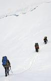 Montaña Tetnuld fotos de archivo