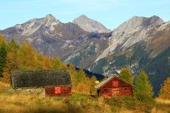 Montaña tirolesa vieja Fotos de archivo libres de regalías