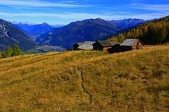 Montaña tirolesa vieja Imagen de archivo libre de regalías
