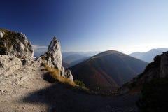 Montaña Velky Rozsutec Fotografía de archivo libre de regalías