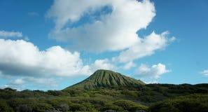 Montaña verde Foto de archivo libre de regalías