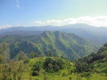 Montaña verde en Sri Lanka Imagen de archivo