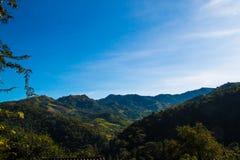 Montaña verde hermosa Foto de archivo libre de regalías