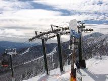 Montaña Vermont de la nieve Imágenes de archivo libres de regalías