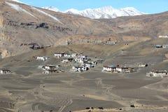 Montaña Village-2 imagen de archivo libre de regalías