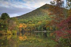 Montaña Virginia del top del sostenido del lago Abbott Fotos de archivo libres de regalías
