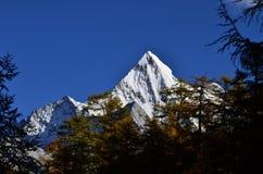 Montaña Xiariduoji de Adén Fotos de archivo