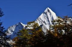Montaña Xiariduoji de Adén Imágenes de archivo libres de regalías