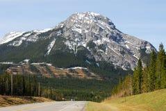 Montaña y camino Imagen de archivo