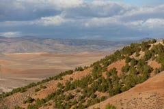 Montaña y laca en Argelia Foto de archivo libre de regalías