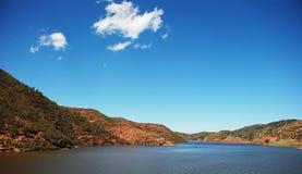 Montaña y lagos Foto de archivo libre de regalías