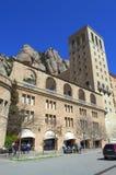 Montaña y monasterio, España de Montserrat Imagen de archivo libre de regalías