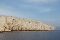 Montaña y paisaje del mar Imagen de archivo