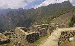 Montaña y ruinas de Machu Picchu Fotografía de archivo