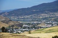 Montaña y Vernon Imagen de archivo