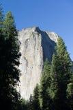Montaña Yosemite de la roca Foto de archivo libre de regalías