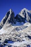 Montaña Yunnan China de la nieve de Yulong Foto de archivo