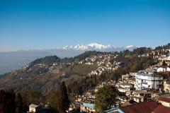 Montañas 3 de Sikkim Fotos de archivo libres de regalías