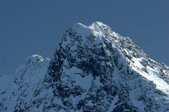 Montañas 4 de Tatra Imagen de archivo
