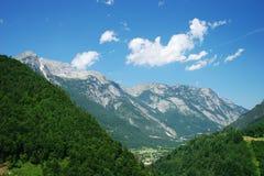 Montañas foto de archivo