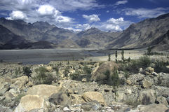 Montañas 7 de Paquistán fotografía de archivo