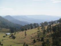 Montañas Adelaide Blue Mountains Hills del viñedo de Australia Foto de archivo libre de regalías