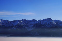 Montañas alejadas Fotografía de archivo libre de regalías