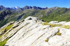 Montañas alpestres imágenes de archivo libres de regalías