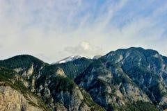 Montañas alpestres Fotos de archivo