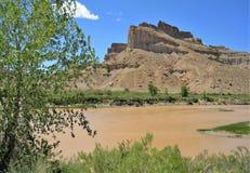 Montañas alrededor del Green River imagen de archivo
