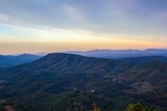 Montañas apalaches imagen de archivo