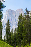 Montañas asombrosas de las dolomías Fotos de archivo libres de regalías