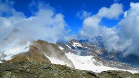 Montañas austríacas asombrosas fotografía de archivo libre de regalías
