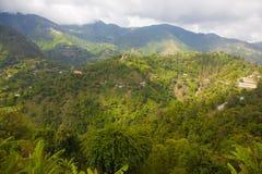 Montañas azules Fotografía de archivo libre de regalías