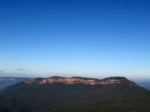 Montañas azules Imagen de archivo libre de regalías