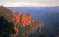 Montañas azules, NSW Fotografía de archivo libre de regalías
