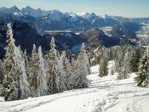 Montañas bávaras Imagen de archivo libre de regalías