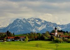 Montañas bávaras Fotos de archivo