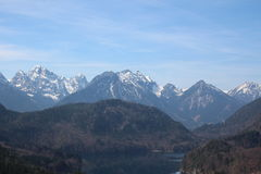 Montañas bávaras Fotos de archivo libres de regalías