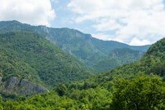 Montañas balcánicas en Bulgaria Imagen de archivo libre de regalías