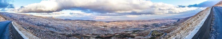 Montañas Bekaa Valley 03 de Líbano imagen de archivo libre de regalías