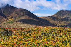 Montañas blancas Imagen de archivo